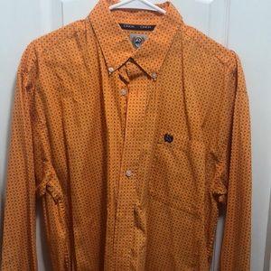 Cinch button shirt